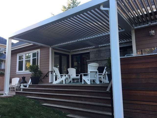 StruXure Outdoor (Arcadia) luxury systems are ideal for any outdoor living areas