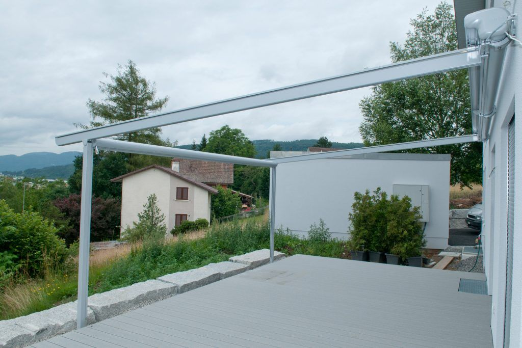 retractable roof frame
