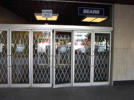 security grills installed on doors